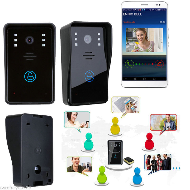 Wireless Wifi Video Door Phone Bell Home Security System ...