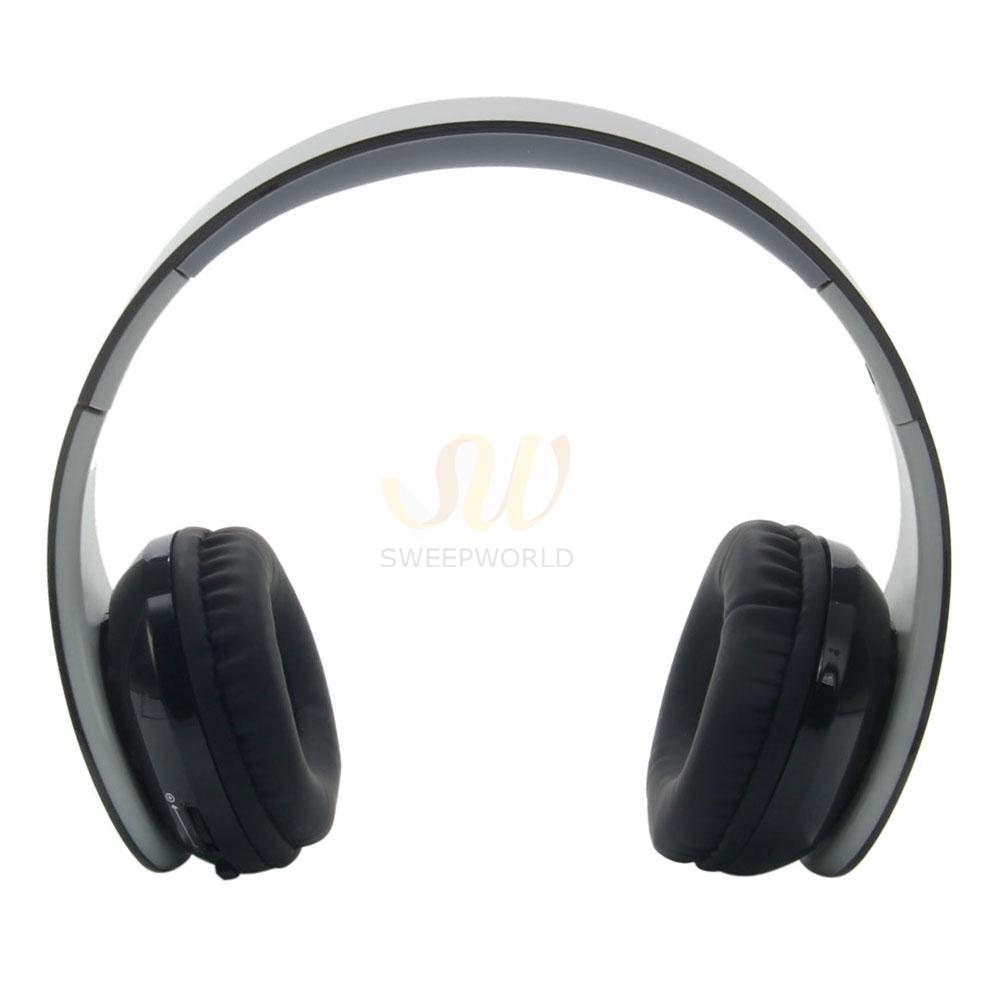 new black wireless bluetooth headset with receiver for ps4 pc ebay. Black Bedroom Furniture Sets. Home Design Ideas
